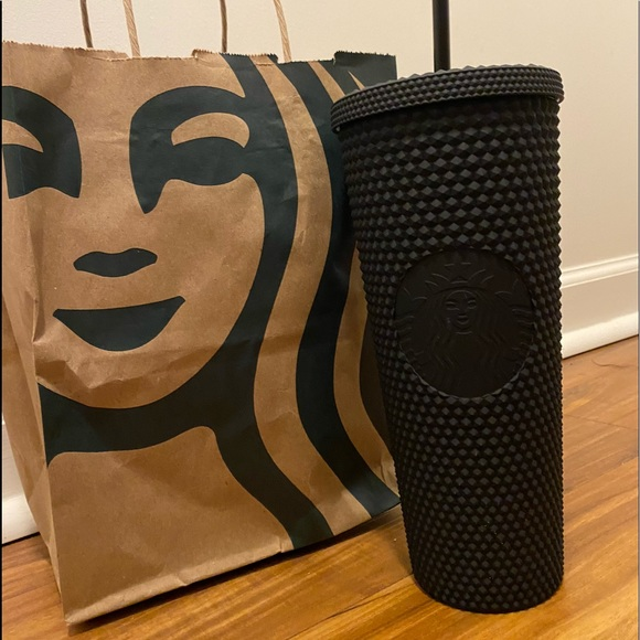 Starbucks Studded  Black Matte Tumbler